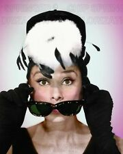 AUDREY HEPBURN BREAKFAST AT TIFFANY'S #1 BEAUTIFUL COLOR PHOTO BY CHIP SPRINGER