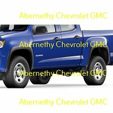 84219295 OEM GM Front and Rear Fender Flare Kit for 2015-2017 Chevrolet Colorado