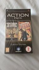 PSP Limited Edition Action Pack brand new and sealed rare shooter double pack