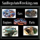 San Diego Auto Wrecking .com Car Parts Engines Pulleys Bumpers Domain Name