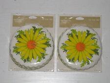 2 Packages Hallmark Cards Coaster Sets Pre-1964 Daisies Daisy