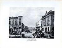 1909 Aufdruck ~ Regent Strasse 1852 Crace Collction ~ London IN 19th Century