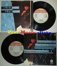 LP 45 7' ELTON JOHN Blue eyes Hey papa legba 1982 italy ROCKET 6000800 *mc dvd