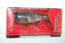 "river2sea bass topwater larry d whopper plopper 90 abalone shad 3 1/2"" .4oz NEW"