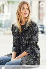 M BNWT Next Camoflage Jaquard Jacket Size 12 £48