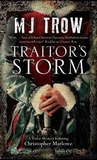 Trow, M. J., Traitor's Storm (A Kit Marlowe Mystery), Very Good Book