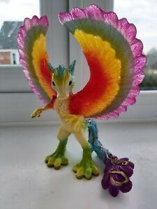 Schleich #70485 Bayala Damarai Rainbow Dragon - Retired - Rare - Great Condition