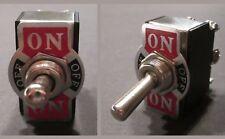 Umschalter Einbau Geräte Kfz Schalter Kippschalter ON OFF ON 2-Pol 230 Nostalgie