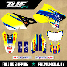 SUZUKI DRZ 400 1999 - 2018 Full Graphic Kit Mx Motocross Enduro Decals Corona