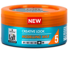 Schwarzkopf Taft Looks Creative Look Hair Modelling Wax Gel Extra Strong 75ml