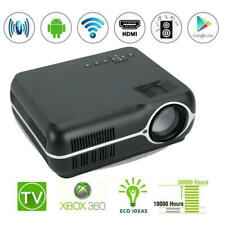 """Smart Wireless BT WiFi LED Projector Android 6.0 150"""" Home Theater 1080P HD USA"""