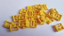 Lego Yellow Plate Modified 1x2, Part 48336, Element 4501232, Qty:25 - New