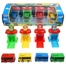 The Little Bus TAYO Friends Shooting Cars Kids Toy (4 PCS - Tayo Rogi Gani Rani)