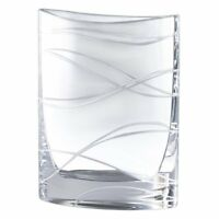 """NEW Nambé Pocket Vase Lead Crystal Clear 9.5"""" Tall FREE SHIPPING FROM USA SELLER"""