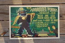 Forbidden Planet Lobby Card Leslie Nielsen