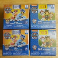 4 Paw Patrol Paw Mini Figures Blind Box Nickelodeon. 2 Series 1& 2 series 4  New