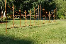Zaun,Gartenzaun ,Zaunelement2,Ranghilfe,Beeteinfassung, Rankgitter, Blumenbeet .