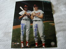 Brooks Robinson & Frank Robinson Autograph 11 x 14 Photo Baltimore Orioles