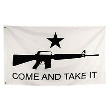 New listing Come and Take It Flag Texas Banner Gun Star M4 Usa Shipping 3 X 5 Ftxx48