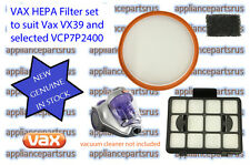Vax Power 7 HEPA Filter Set for Later Models VCP7P2400 VX39 Part No VCP7PTFLT2