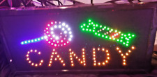 CANDY Neon Led Sign,Business Sign,Store Sign,Shop Sign,Window Sign 20 X 10