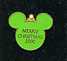 2346 DISNEY LE 1000 PIN GREEN CHRISTMAS BALL 2000