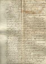 Sentenza fra Massoni e Orsi Ducato di Lucca Regnante Maria Luisa di Borbone 1822