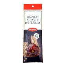 Yutaka Bamboo Sushi Rolling Mat Rodillo de arroz japonés oriental Mantel Individual