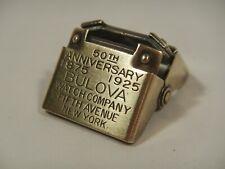 Anniversary Commemorative Movement Holder Watch Repair Tools: Bulova 50th