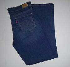 Levi's Women's Stretch Jeans - Size 14M - Stone Washed - Excelent Pre-owned (J1)