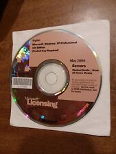 Microsoft Windows XP Professional 64 bit X64 2005 Servers Student Media + Key