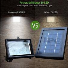 Solar 30 LED Powered Dusk-to-Dawn Sensor Waterproof Outdoor Security Flood Light