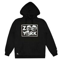 Official Zoo York Men's - Stacked Skull - Pullover Hood - Black