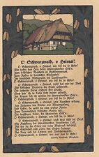 Schwarzwald, Steindruck AK, ca. 20er Jahre