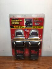 """Rod Saver Retractable Transom Tie-Down 40"""" Pair Boat Saver New"""