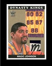 2015 SICK 1/1 AUTO  MAGIC JOHNSON DYNASTY KINGS LAUNDRY TAG PATCH SIGNED