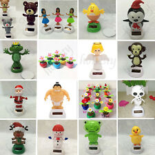 Funny Solar Powered Animal Dancing Toy For Table Desk Home Car Xmas Decor Gift