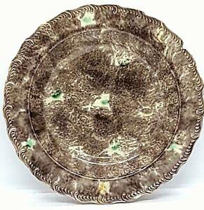 """RARE Circa 1760 Thomas Whieldon """"Tortoise"""" Bowl in Brown & Green on Creamware"""