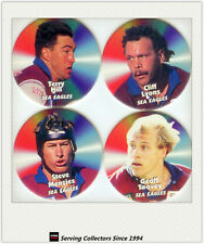 1997 Dynamic Rugby League Turn it up Pogs Team Sets-MANLY SEA EAGLES(4)