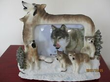 Wolf Family ~ Picture Frame #8