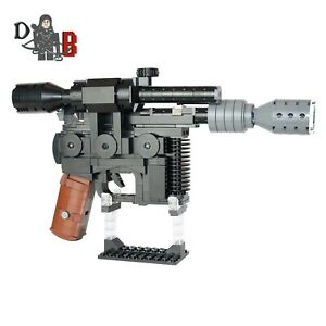 Star Wars Han Solo DL-44 Blaster from Empire strikes back made using LEGO parts