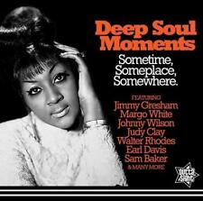 DEEP SOUL MOMENTS Various NEW & SEALED 60s SOUL CD (OUTTA SIGHT) R&B NORTHERN