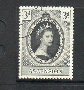 ASCENSION F/USED 1953 SG56 QEII CORONATION