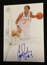 CANDACE PARKER 2010 SP Authentic Chirography Lady Vols Hard Signed Card