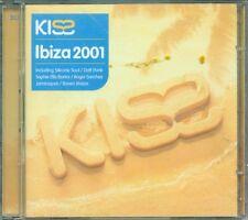 Kiss Ibiza 2001 - Daft Punk/Jamiroquai/Inxs/Raven Maize/Fatboy Slim 2X Cd Ottimo