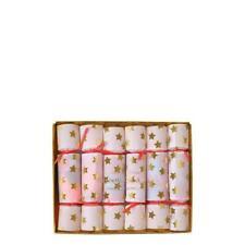 MERI MERI Tiny Confetti Christmas/New Year/Saucer Crackers (6 Pack)