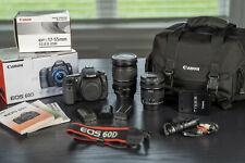 Canon EOS 60D Digital SLR Camera w/ 2 Lenses (10-18mm & 17-55mm) and Camera Bag