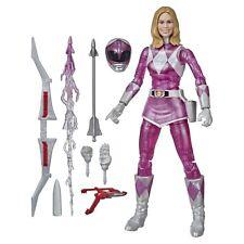 "Power Rangers Lightning Collection 6"" Mighty Morphin Metallic Armor Pink Ranger"