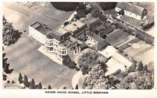 Surrey,  LITTLE BOOKHAM, Manor House School, Real Photo Aerial View