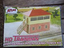 Atlas Trainman ATL717 Interlocking Tower, Building KIT HO Scale (1:87)